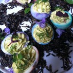 #Game of Thrones inspired Deviled dragon eggs from Hua and Stephanie from @LickMySpoon