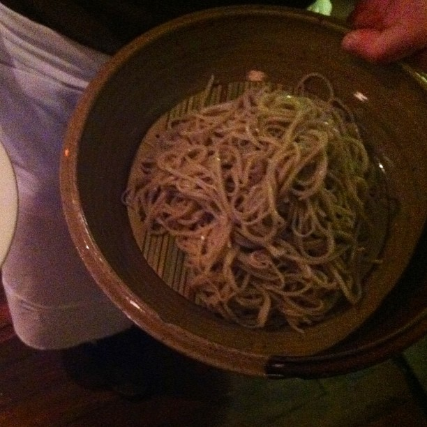 Sonoko Sakai's soba at the koji dinner at Bar Tartine