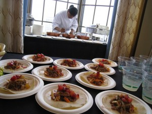 Food event samples - sf chefs