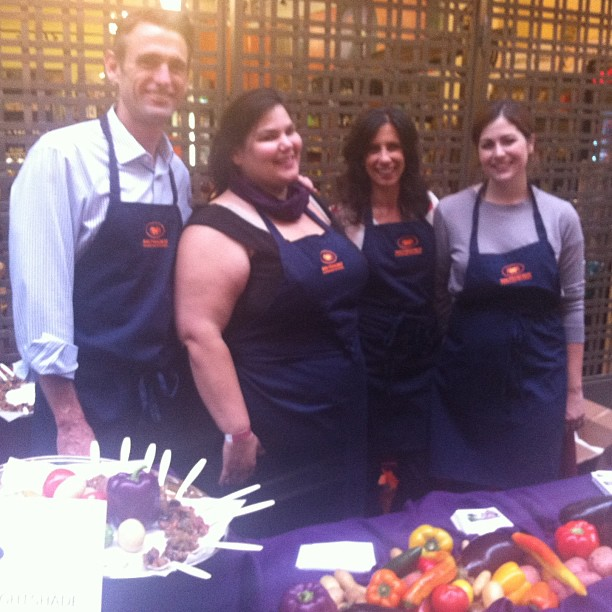 Meet the @SFCooking School  team Nightshade at the #CUESA summer celebration.