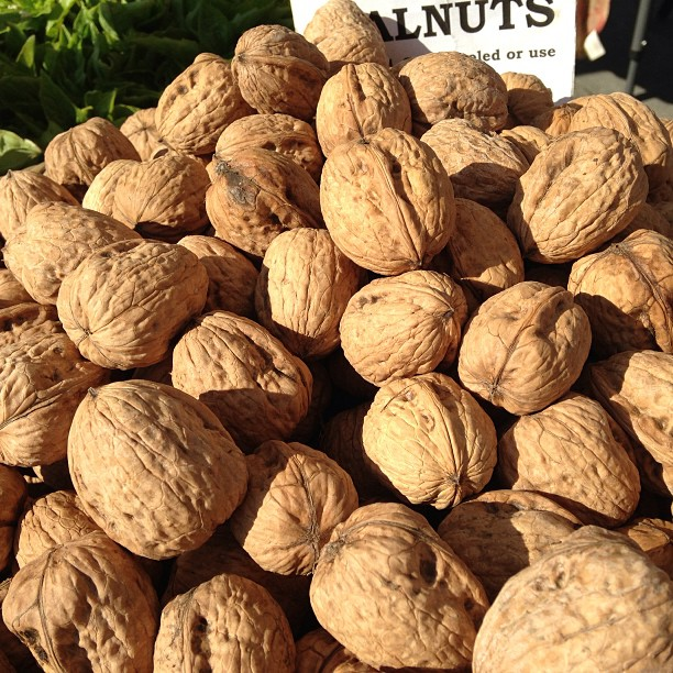 Made sure to get some Freshly harvested walnuts #HarvestFest @CUESA