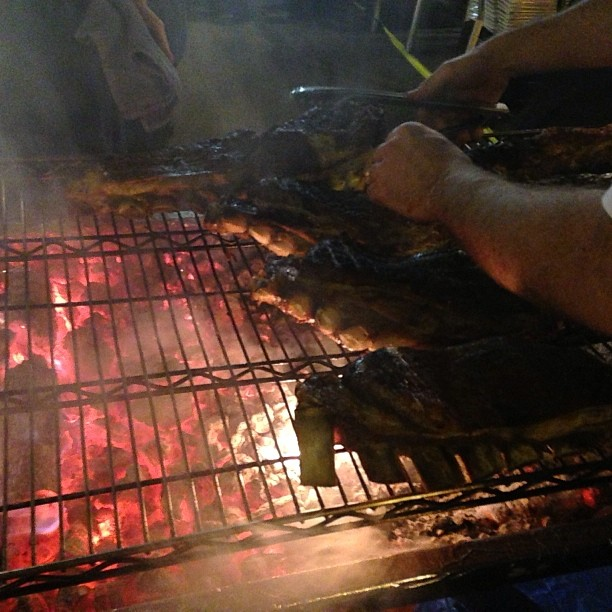 #cuesasundaysupper beef on the 'que