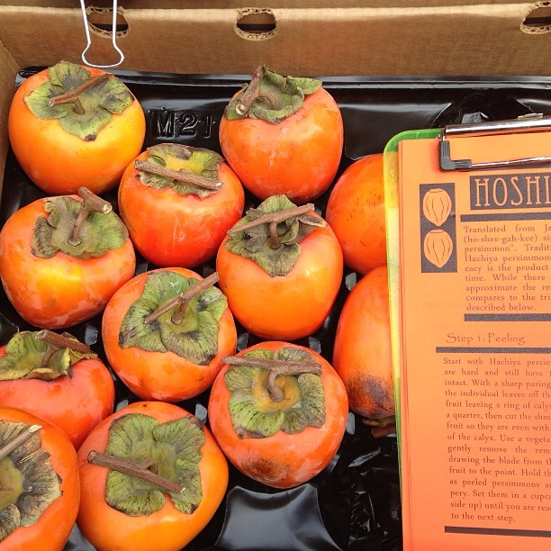 #DIY #Hoshigaki ready to buy and make + how to recipe @BlossomBluff @CUESA today