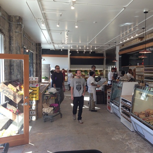 It's official: #localmissionmarket is open at 2670 Harrison Street @ 22nd. #thelocalway