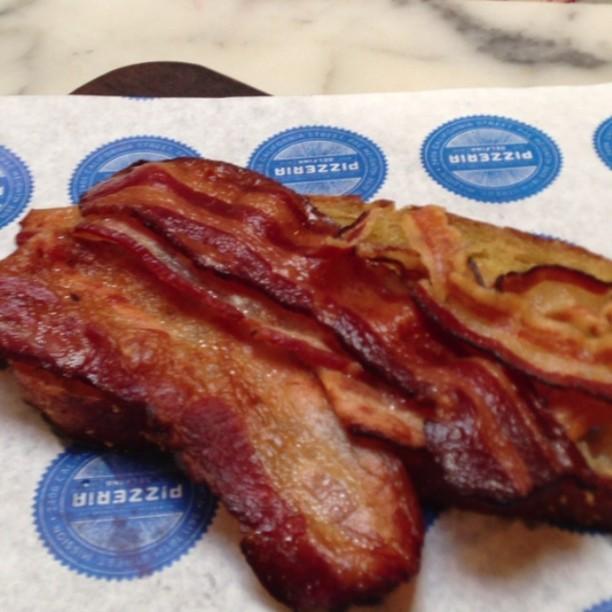 #Delfina15 anniversary bacon eggstravaganza