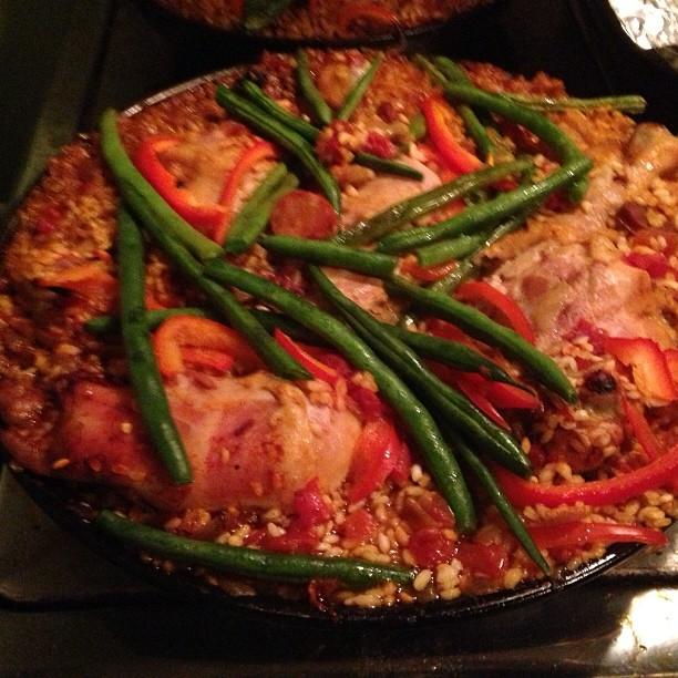 Paella extravaganza #cookingclub