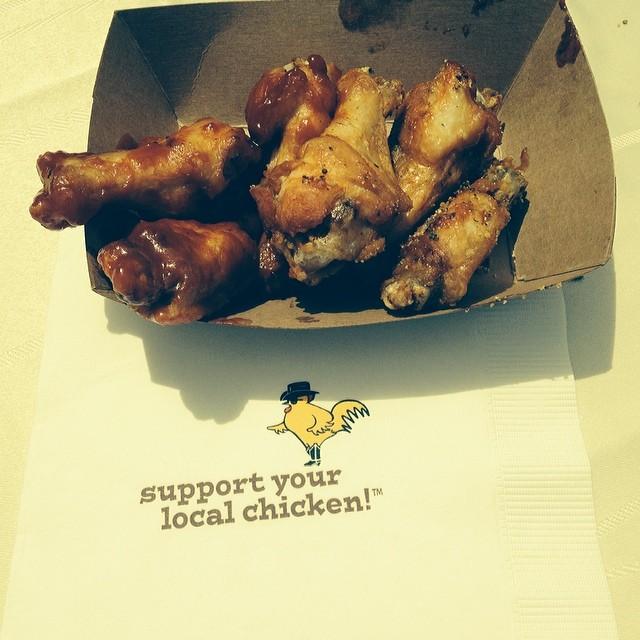Delish @RockyRosie BBQ chicken@ #ButterandEggDays