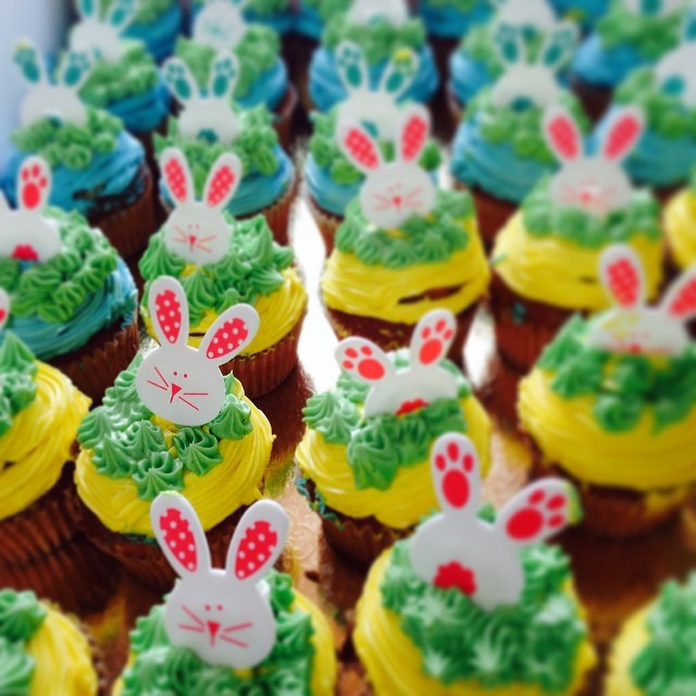 An army of Bunny soldiers --hop hop hopping!