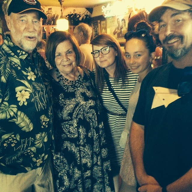 #goodcompanybbq pilgrimage  with the Janssens and my dad.