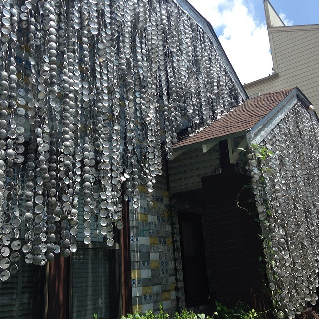 #Inspired by the Beer can House in #Houston.
