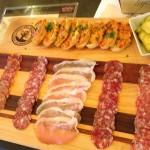 The salami platter at @Seghesio #healdsburg #wineroad. Loving the old vine Zin '11.